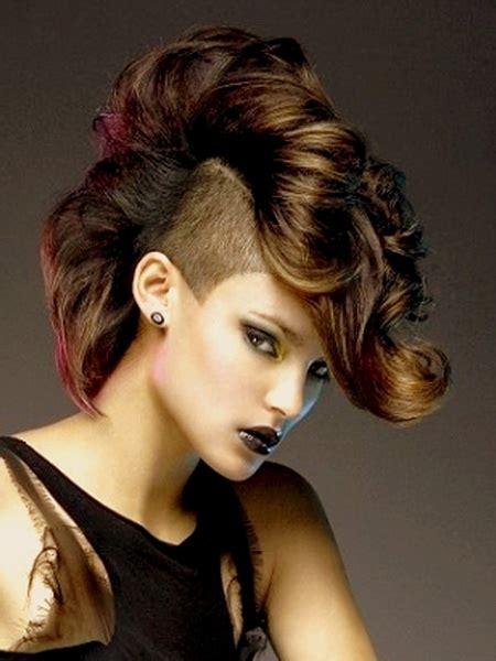 mohawk hairstyles  women yve stylecom