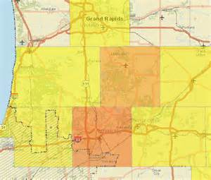Energy Outage Map Power Outages In West Michigan Fox17