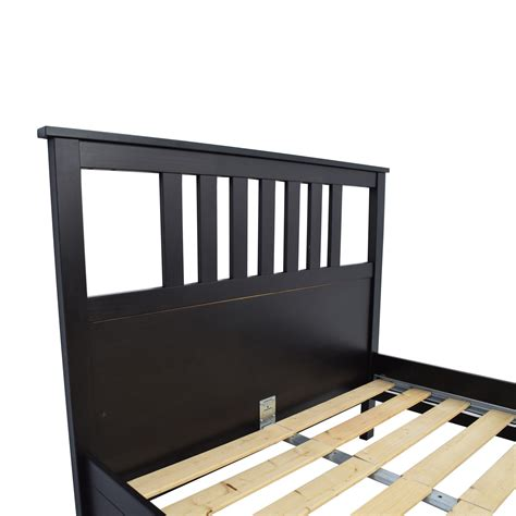 dark brown bed frame 53 off ikea ikea dark brown wood queen bed frame beds
