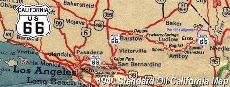california map route 66 301 moved permanently