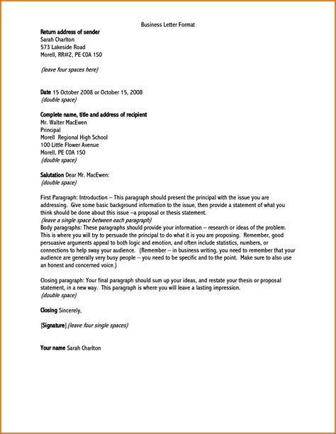 Official Letter Address 9 How To Write A Formal Letter Address Lease Template