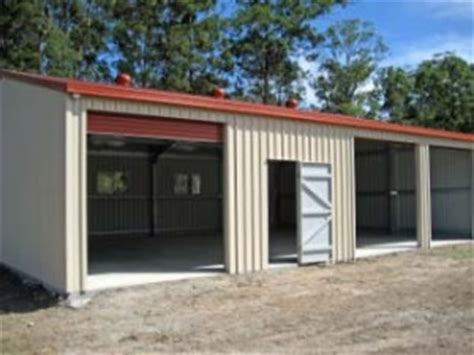 Shed Manufacturers Australia by Workshop Sheds Buying Guide For A 4 Bay Or Bigger Shed
