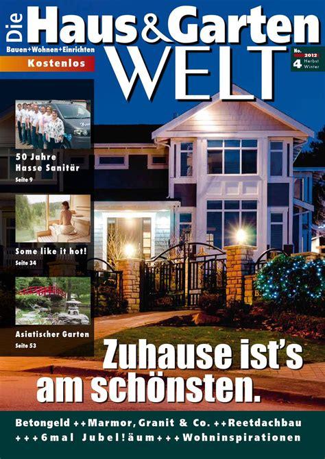 haus und gartenwelt die haus und gartenwelt herbst winter 2012 by nordicweb
