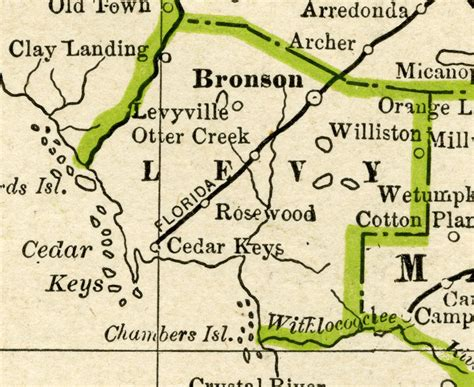 Levy County Search Levy County 1886