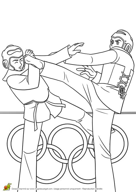 karate coloring pages for kids tae kwon do pinterest
