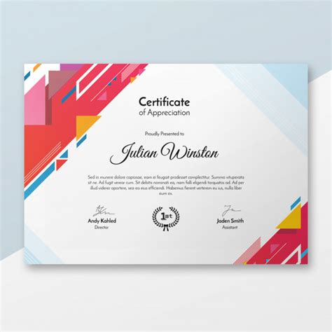 certificate backgrounds vectors   psd files