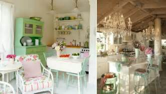 chic home interiors 25 charming shabby chic style kitchen designs godfather