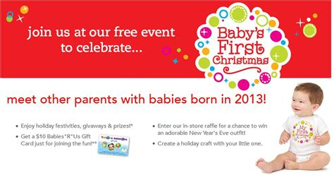 Babies R Us Gift Card Promotional Code - free 10 babies r us gift card for parents of babies born in 2013