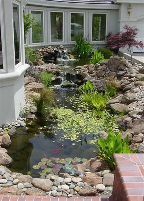 Wasserspiel Im Garten 175 by 50 Beautiful Backyard Fish Pond Garden Landscaping Ideas