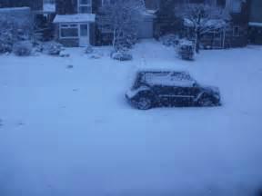 Kia Soul In Snow Cardiff