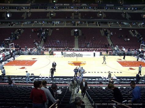 section 122 united center chicago bulls united center section 112 rateyourseats com