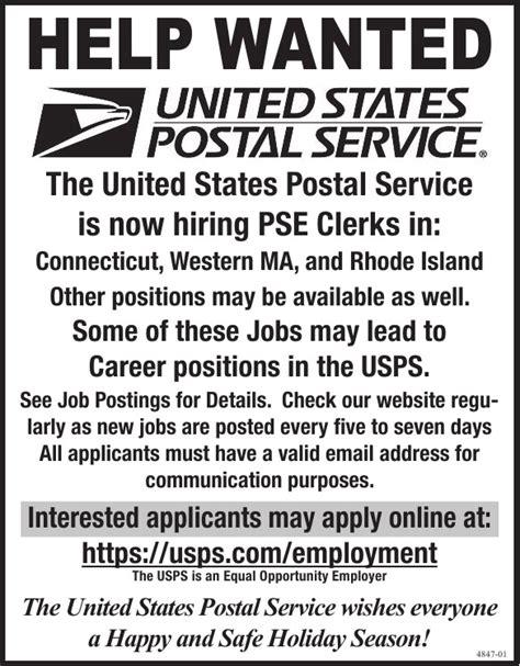 Usps Description by Details United States Postal Service Pse Clerk At United States Postal Service
