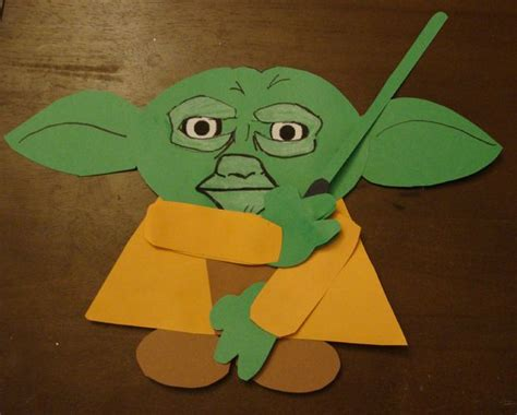 Yoda Papercraft - wars crafts