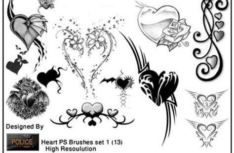 tattoo needle brush photoshop huge collection of high quality free tattoo brushes for