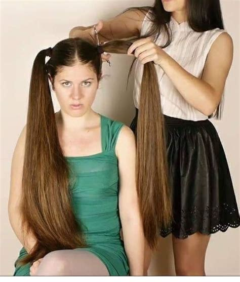 super long hair after 30 193 best super long hair all cut off images on pinterest