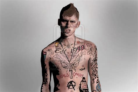 mgk quotes tattoos quotesgram