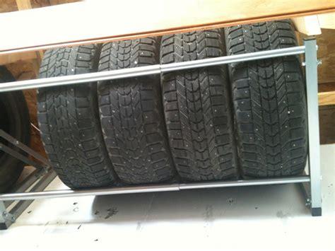 Tire Rack For Garage by Tire Storage Racks