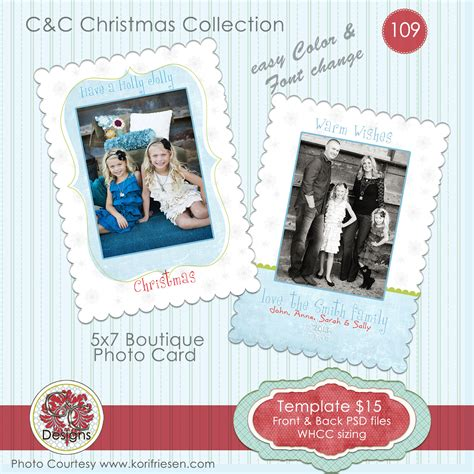 whcc boutique card templates photo card selection 109 card templates on