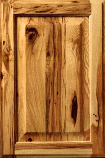 rustic hickory cabinets on rustic cherry