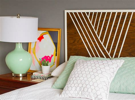 painted wooden headboards 15 ideas and secrets for diy wooden headboards look