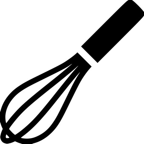 Hand Whisk Wire Whisk Utensils Cooking Svg Png Icon Free