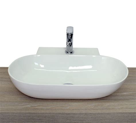 rubinetto per lavabo da appoggio lavabo da appoggio a goccia ovale squadrato in ceramica