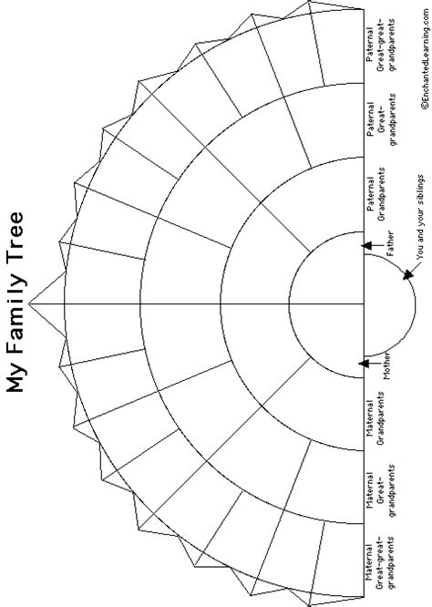 family tree fan chart template family tree black and white template new calendar