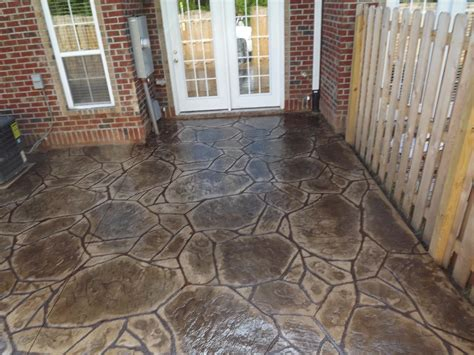 atlantic coast concrete sted concrete patio flagstone