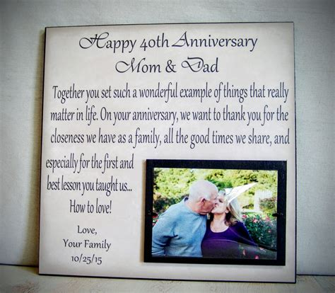 Wedding Anniversary Gift Ideas For Parents by Anniversary Gift For Parents Anniversary