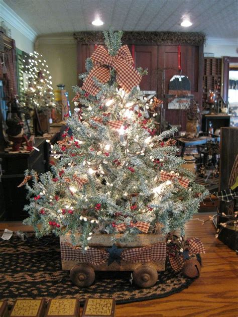 17 best ideas about country christmas trees on pinterest