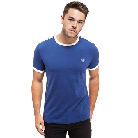 Fred Perry T Shirt fred perry m6347 taped ringer t shirt t shirts from