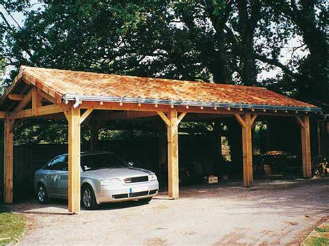 garage pour voiture garages en bois ou carport pour les voitures 1 2 tout