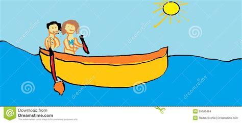 boat child drawing child s drawing boat stock illustration illustration of