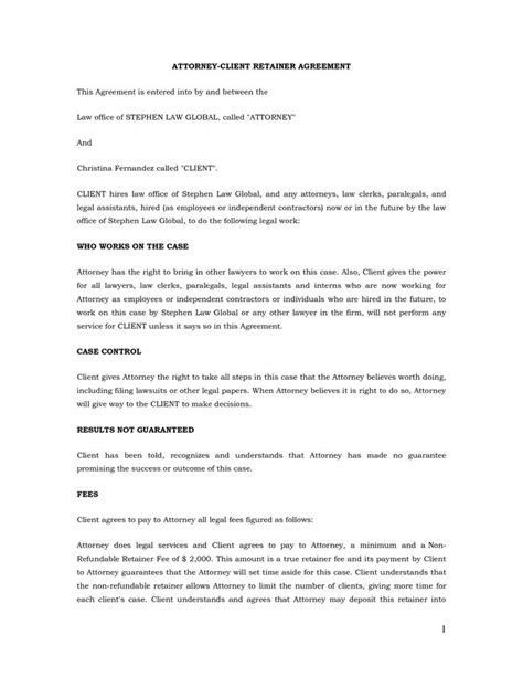 customer contract template 25 best ideas about retainer agreement on