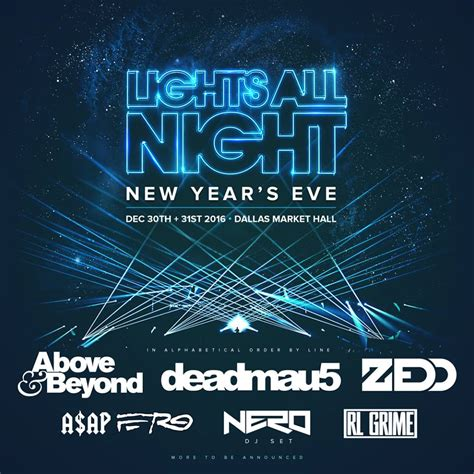 lights all lineup lights all announces lineup and expansion to el paso