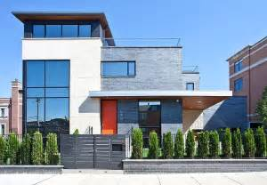 modern contemporary houses modern house nearby lake michigan with a sense of