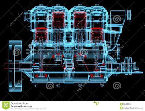 motori a combustione interna motore a combustione interna trasparenti e dei