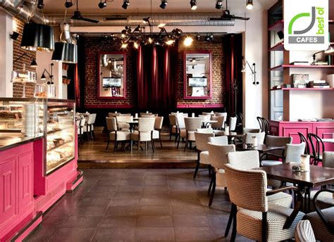 coffee shop design pink cafes 187 retail design blog
