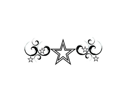 stars with swirls tattoo designs and swirl designs cliparts co