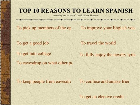 Top 8 Reasons To Tell The by 10 Reasons Study