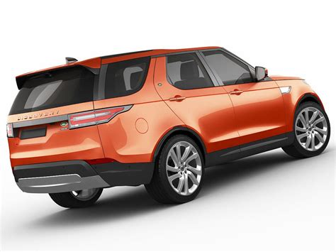 land rover model 2017 land rover discovery 2017 3d model max obj 3ds fbx c4d lwo