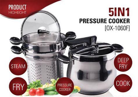 Panci Presto Home Industri panci presto ox 1060f oxone preasure cooker bisa sebagai oven steamer wajan serbaguna murah