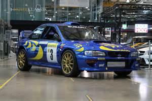 Mcrae Subaru Colin Mcrae S 1997 Subaru Impreza Wrc Is Up For Sale