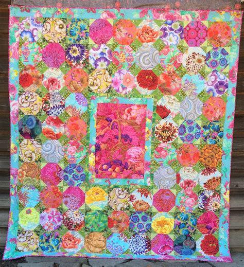 Kaffe Fassett Quilt Pattern by Summer S Snippets Snowball Quilt Design By Kaffe Fassett