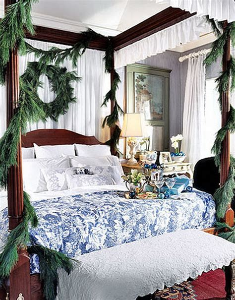 christmas bedrooms elegant interior theme christmas bedroom decorating ideas