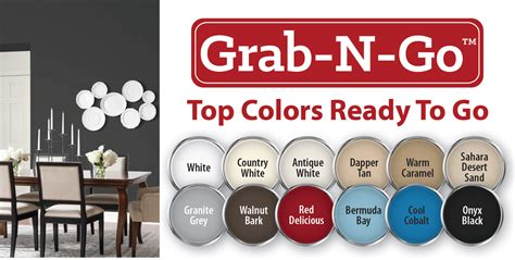 glidden paint on quot new glidden grab n go colors
