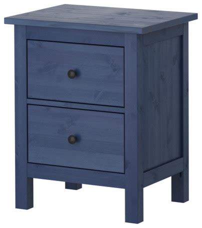 Ikea Bedside Table With Drawers Hemnes Chest With 2 Drawers Blue Scandinavian Nightstands And Bedside Tables By Ikea