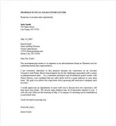 Cover Letter Sle by Sales Cover Letter Template 8 Free Word Pdf Documents