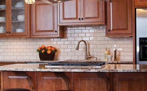 colored subway tile backsplash cream colored subway tile backsplash kitchen ideas