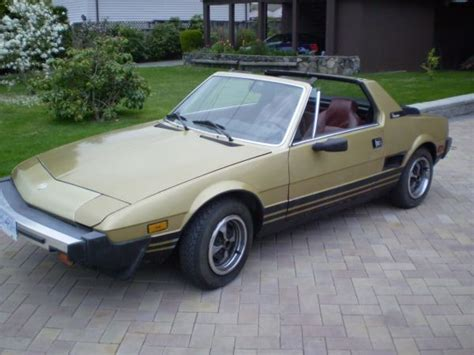 1979 fiat x19 1979 fiat x1 9 1950 cars you should buy